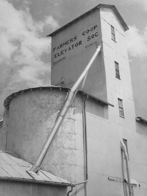 Farmers Co-op Elevator, Richmond, Kansas - Page