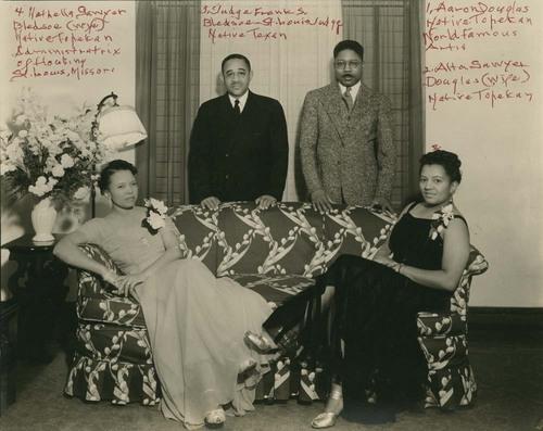 Nathella Sawyer Bledsoe, Frank S. Bledsoe, Aaron Douglas, and Alta Sawyer Douglas - Page