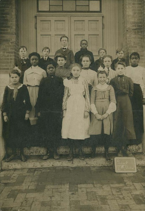 Sixth grade class, Grant Elementary School, Topeka, Kansas - Page