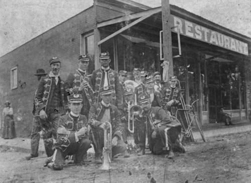 Chetopa Merchants' Band, Chetopa, Kansas - Page