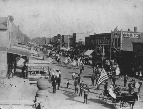 Parade, Chetopa, Kansas - Page