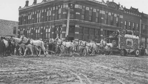 Circus parade, Osborne, Kansas - Page