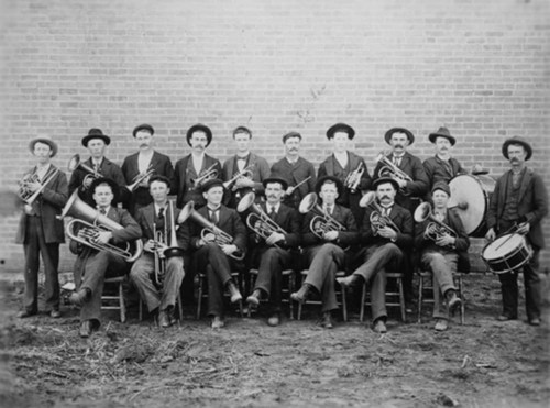 Claflin Band, Claflin, Kansas - Page