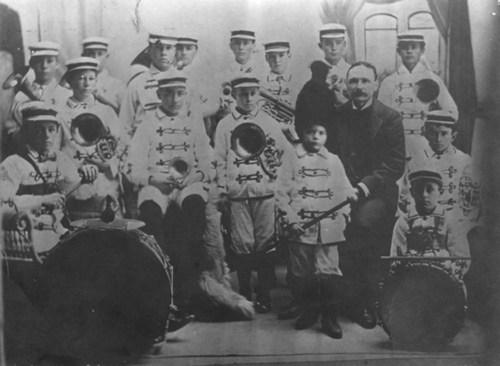Boys Band, Cottonwood Falls, Kansas - Page