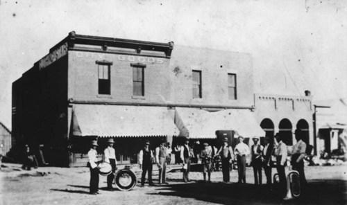 Courtland City Band, Courtland, Kansas - Page