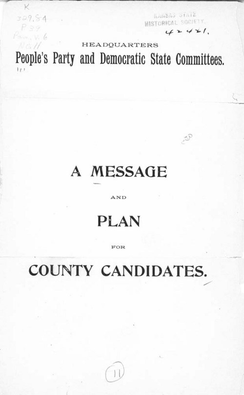 A message and plan for county candidates - Page