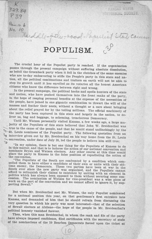 Populism - Page