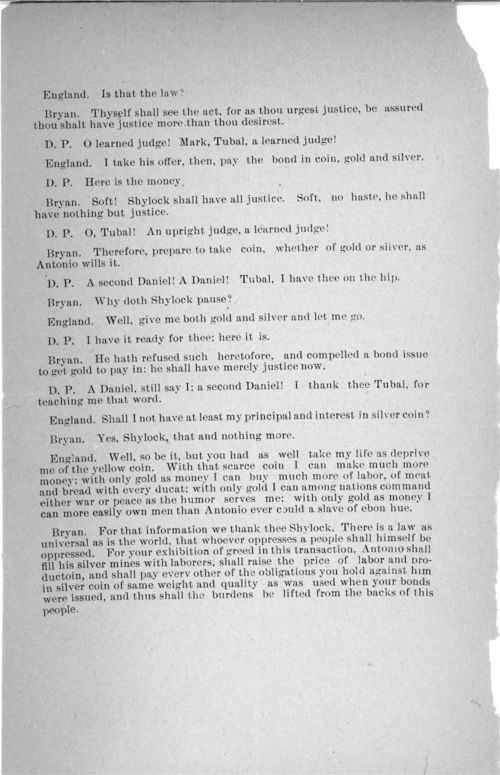 The Merchant of Venice (Populist version) - Page