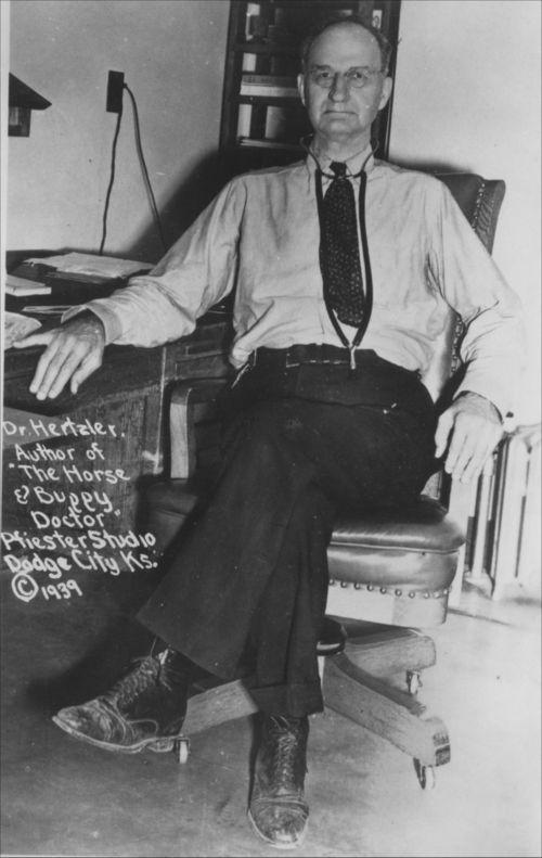 Dr. Arthur Emanual Hertzler - Page