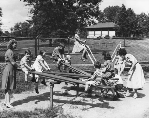 Children playing, Kansas City, Kansas - Page