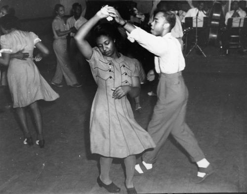 Teenagers dancing at a recreation center, Leavenworth, Kansas - Page