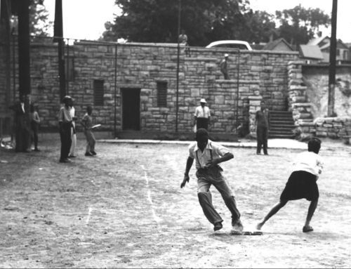Children playing baseball, Kansas City, Kansas - Page