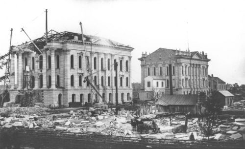 Kansas State Capitol construction - Page
