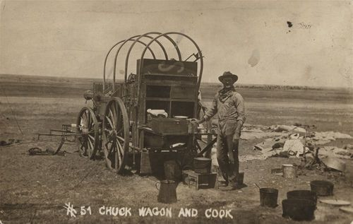 Chuck wagon and cook in Seward County, Kansas - Page