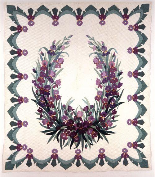 Iris Garland quilt