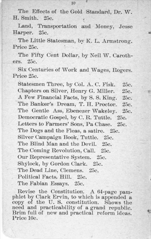 Agitate, educate, organize:  price catalogue of books, documents and periodicals - Page