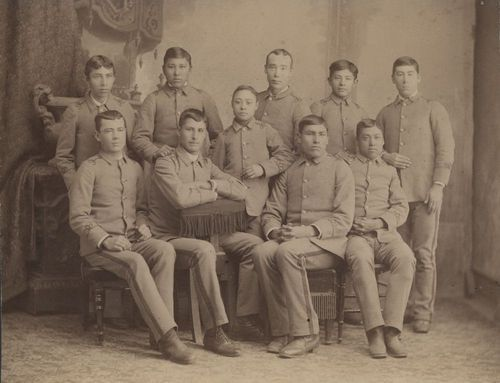 Haskell Institute students, Lawrence, Kansas - Page