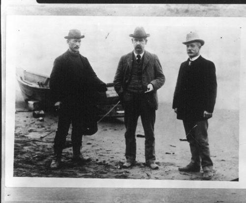 Wyatt Earp, Ed Englestadt, and John P. Clum - Page