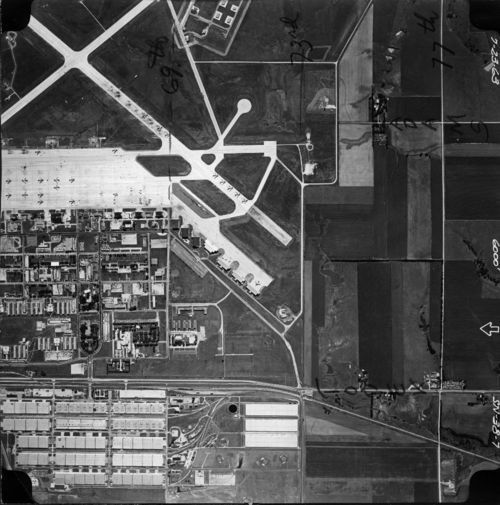 Aerial view of Forbes Air Force Base, Topeka, Kan. - Page