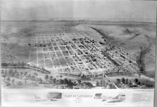 Lawrence, Kansas Territory - Page