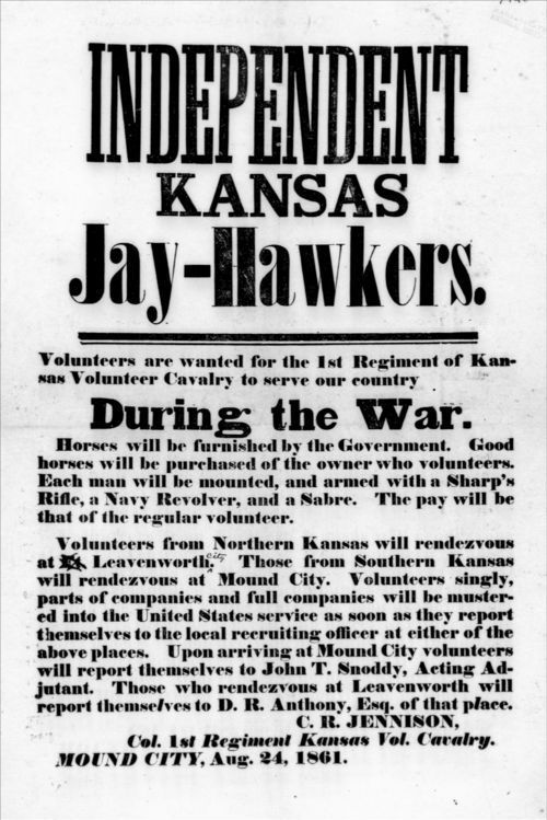 Independent Kansas Jay-Hawkers - Page