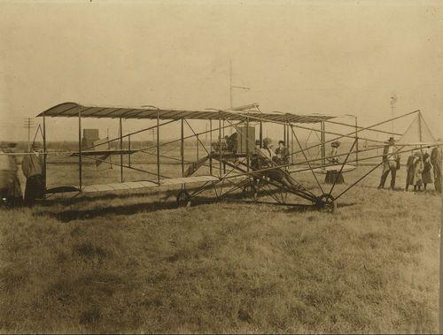 Albin Longren's first airplane - Page