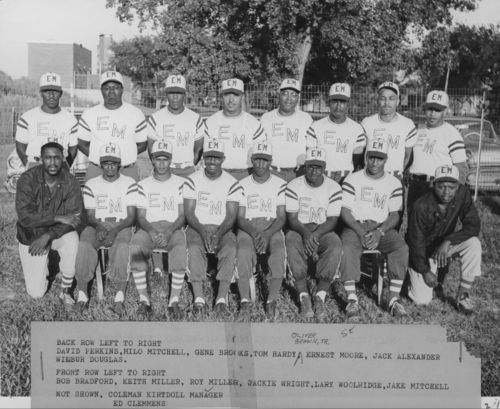 Marling Hornets softball team, Topeka, Kansas - Page