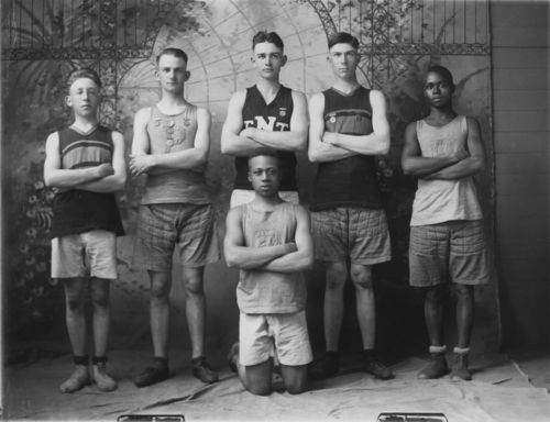 Basketball team, Paxico, Kansas - Page