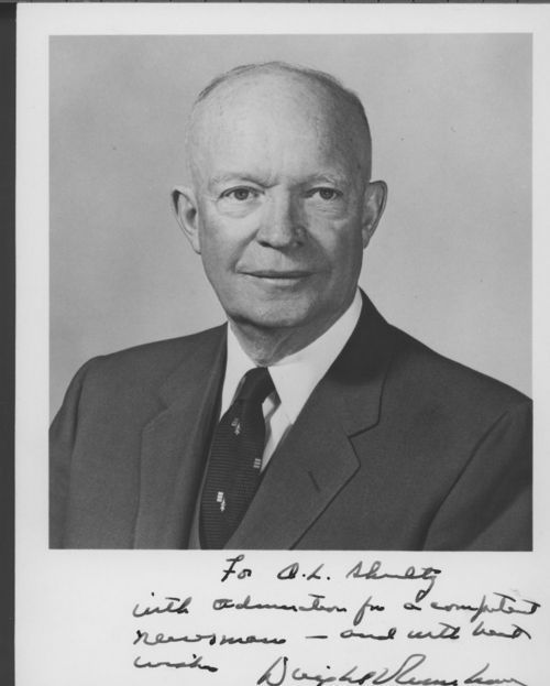 Dwight David Eisenhower, President of the United States - Page