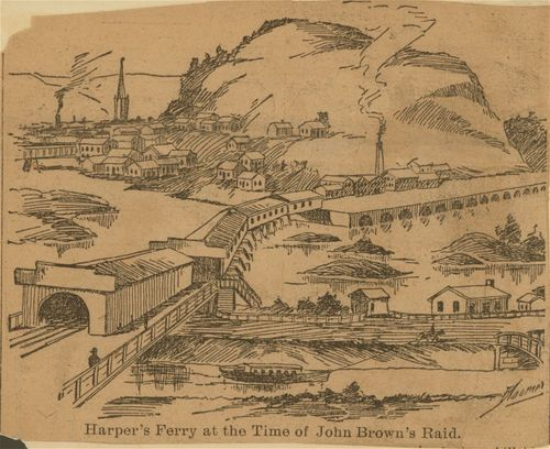 Harper's Ferry, at the time of John Brown's raid - Page