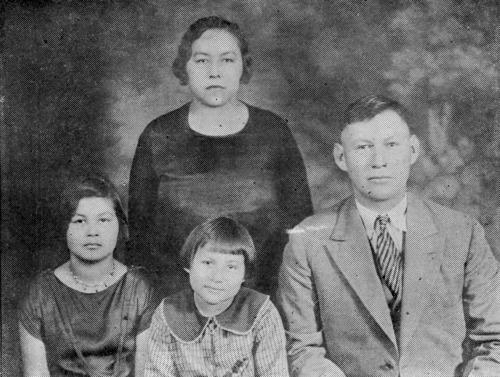 Ester Bighorse-Jefferson and Mose Jefferson family - Page
