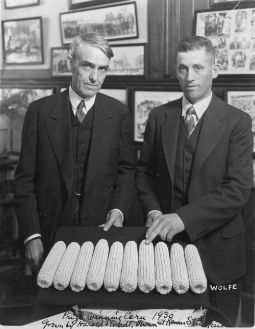 Arthur Capper and Harold Staadt - Page