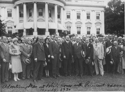 Arthur Capper and President Herbert Hoover - Page