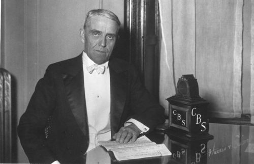 Arthur Capper broadcasting over Columbia Broadcasting System - Page