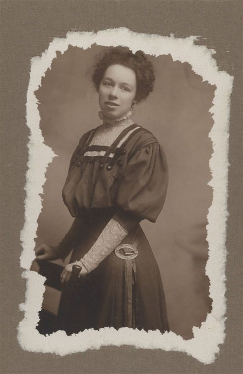 Unidentified woman, possibly Carry Nation's niece - Page