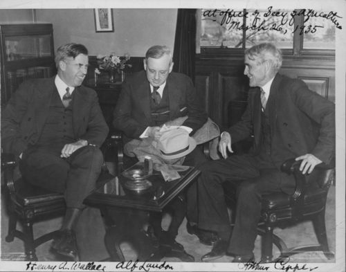 Arthur Capper, Alfred Mossman Landon, and Henry A. Wallace - Page