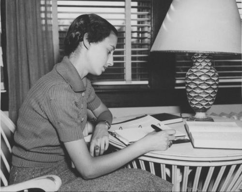 Peggy Ann Landon, daughter of Alfred Mossman Landon - Page