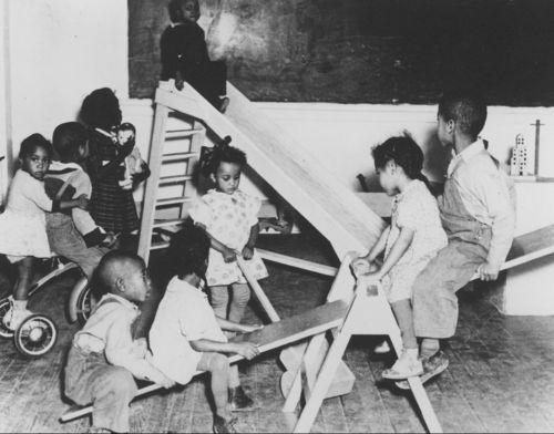 Nursery school, Frontenac, Kansas