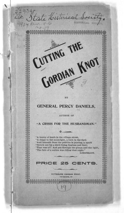 Cutting the Gordian knot - Page