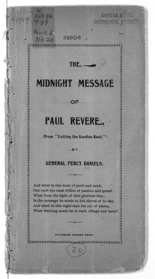 The midnight message of Paul Revere - Page