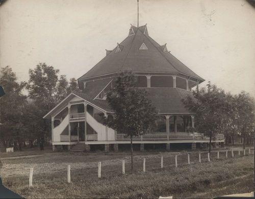 Forest Park pavilion, Parsons, Kansas - Page