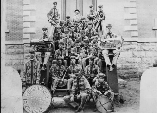 Epperson's Military Band, Great Bend, Kansas - Page