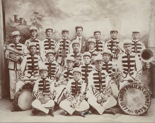 Foulk's Cornet Band, Garden City, Kansas - Page