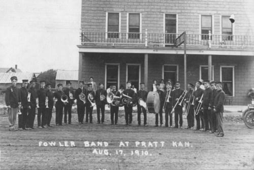 Fowler Band, Pratt, Kansas - Page