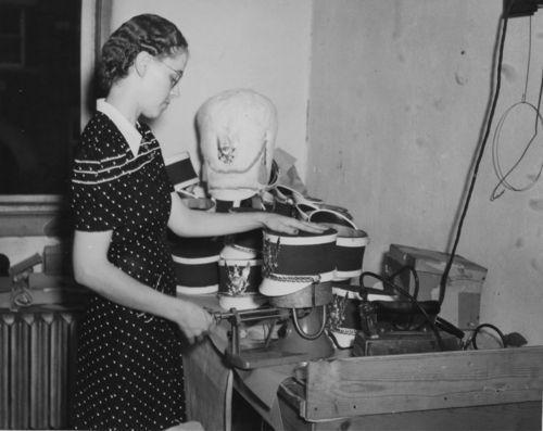 Manufacturing band uniform hats, Wichita, Kansas - Page