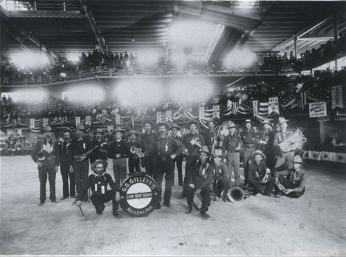 G. G. Gillette's Cowboy Band, Kansas City, Missouri - Page