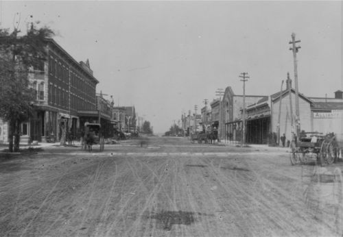 Looking north on Main Street, Junction City, Kansas - Page