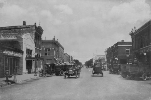 Business street in Dodge City, Kansas - Page