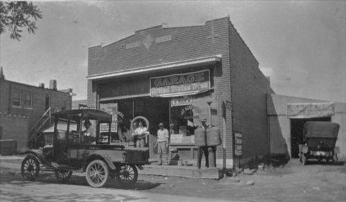 Schepler's Hardware & Garage, Overland Park, KS, ca. 1920-1925