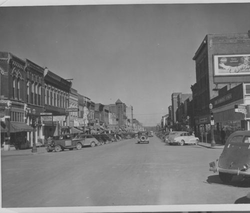 Business street in Atchison, Kansas - Page